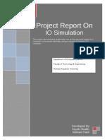 Java Project on IO Simulator