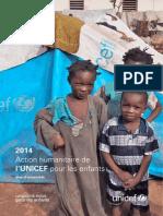 2014 Action humanitaire de l'UNICEF pour les enfants