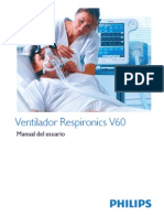 Manual Ventilador Respironics V60
