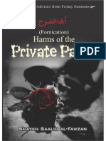 eBook Harms of the Private Parts Shaykh Saalih Al Fawzan