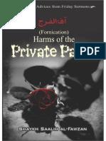 eBook Harms of the Private Parts Shaykh Saalih Al Fawzan