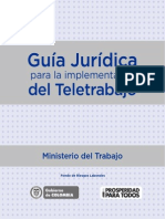 Guia Juridica Para La Implementacion Del Teletrabajo