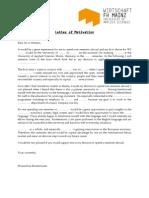 Sample Letter of Motivation-1