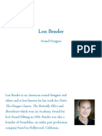 Lon Bender Profile