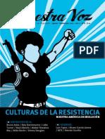 Nuestra Voz n 9 Culturas de La Resistencia