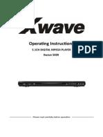 Manual Xwave 5000 Eng