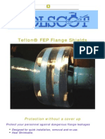 IIII-Teflon Flange Shields for Protection Without a Cover Up