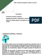 CLASE 2. TALLER DE EXPRESIÓN ORAL Y CORPORAL.