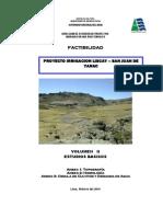 Volumen II Estudios Basicos
