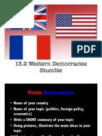 13 2 western democracies stumble