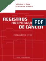 registros hospitalares de câncer