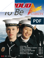 Proud to Be - Cadets Canada - Way Ahead Process - Volume 4 - Spring 1999