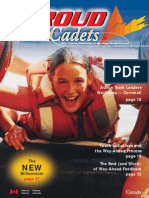 Proud to Be - Cadets Canada - Way Ahead Process - Volume 3 - Winter 1998
