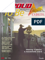 Proud to Be - Cadets Canada - Way Ahead Process - Volume 7 - Winter 1999