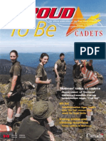 Proud to Be - Cadets Canada - Way Ahead Process - Volume 11 - Winter 2000