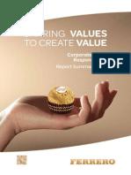 FerreroCSR Rapporto2012 ENG Corto