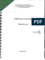 Suport de Curs_Psihologia Sanatatii_T. Turchina