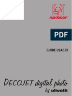 Decojet 2007 Manual