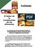 Trofologia-combinación alimentos