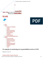 10 campañas de marketing sin responsabilidad social en el 2011