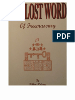 Hilton Hotema - The Lost Word of Freemasonry