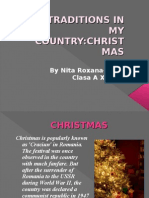 Traditions of Christmas in Romania