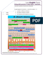 A Short Story - Exercises