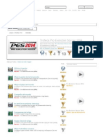 Trofeos Pro Evolution Soccer 2014 PS3