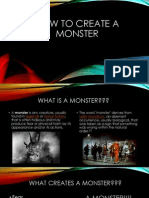 how to create a monster
