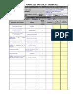 Formulario Evaluación 2013 -MARIA