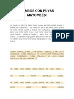 Mambos Con Puyas Mayombes