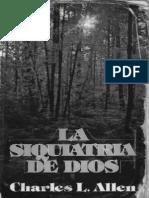 La Siquiatria de Dios (Charles l. Allen)