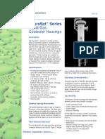 GDS133_SepraSol™ Series Liquid Gas Coalescer Housings