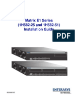 MatrixE1Series_1H582-25-51_InstallGuide