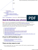 Root & Rooting Your Android Phone or Tablet
