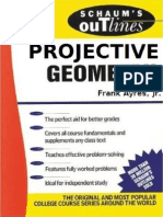Schaum Projective Geometry
