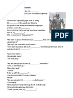 Robocop Movie Worksheet