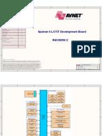 Spartan6 LX75T Dev RevC Schematic