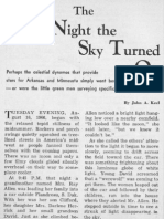 The Night the Sky Turned On by John A. Keel
