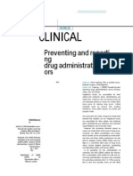 Journal in Medication Error