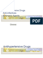 Anti Hypertensive Anti Infective Antimanic Agents