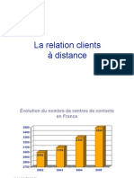 Les Relations Clients a Distance