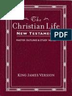 The Christian Life New Testament, KJV
