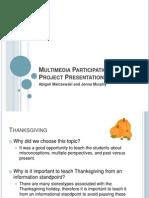 multimedia participation project presentation