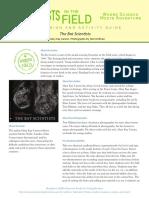 Bat Scientist Discussion Guide
