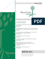 William Carey International Development Journal, Volume 3, Issue 1