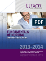 Exam Content Guide Fundamentals of Nursing...