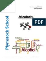alcohols handout