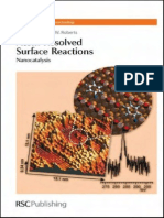 Atom Resolved Surface Reactions. Nanocatalysis