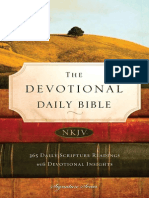 The Devotional Daily Bible, NKJV
